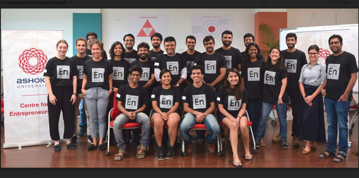 Ashoka Entrepreneur in Residence Programme