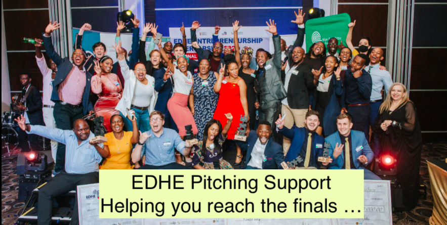 EDHE Support: Pitching your venture